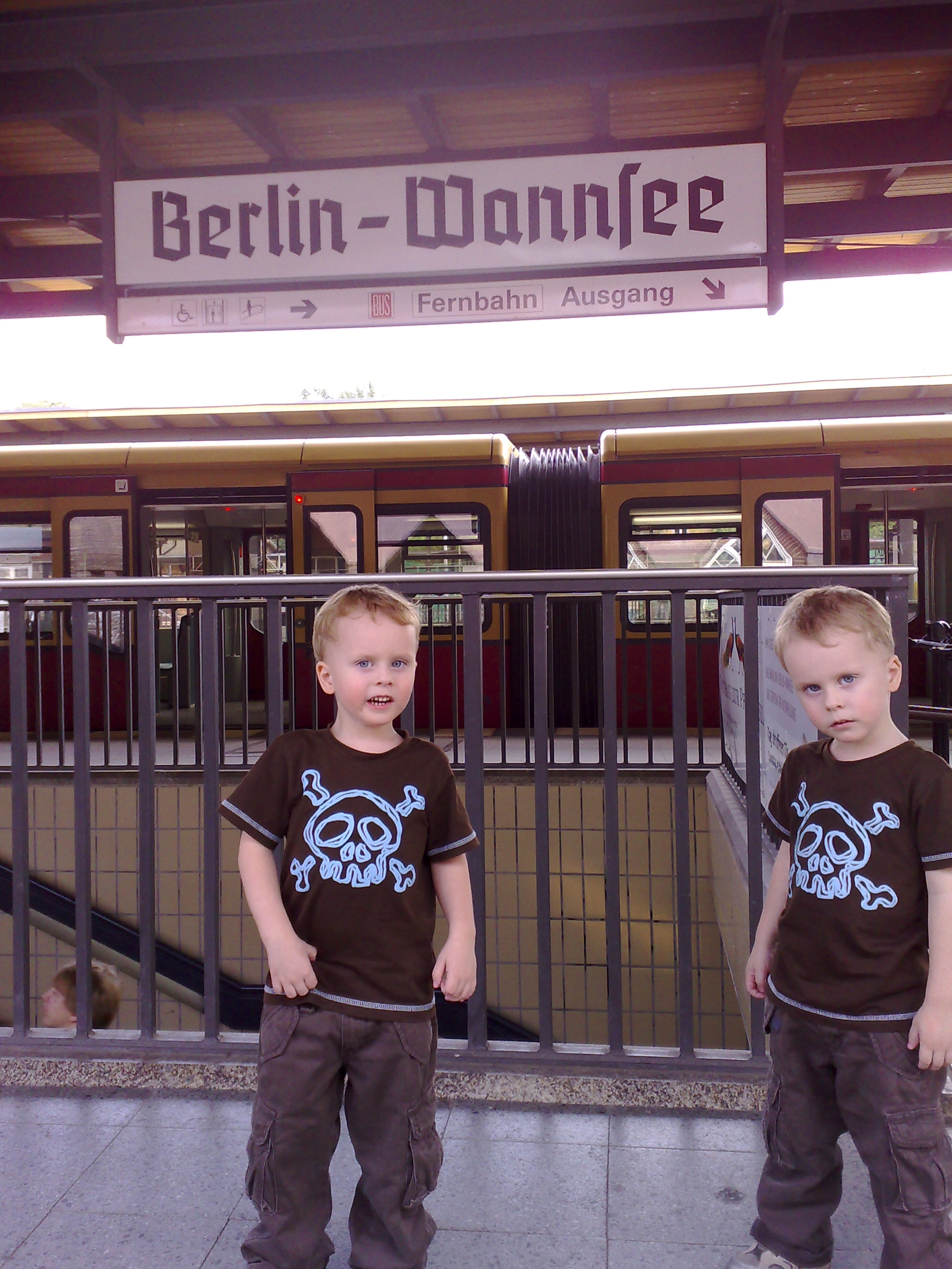 Nick and Tim Wannsee Berlin