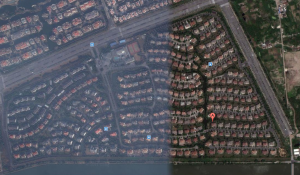 Satelite View of Green Hills compounf Pudong